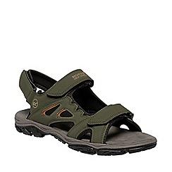 Regatta - Green Holcombe vent sandals
