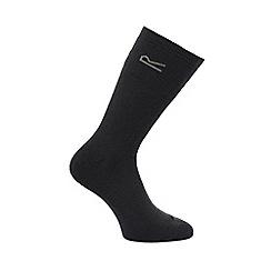 Regatta - Grey 5 pack thermal socks