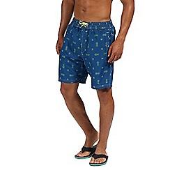 Regatta - Blue 'Hadden' board shorts