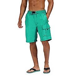 Regatta - Green 'Hotham' board shorts