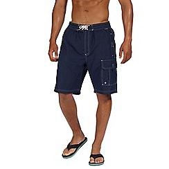 Regatta - Blue 'Hotham' board shorts