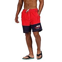 Regatta - Red 'Bratchmar' swim shorts