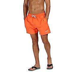 Regatta - Orange 'Mawson' swim shorts