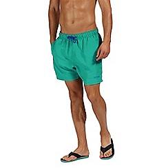 Regatta - Green 'Mawson' swim shorts