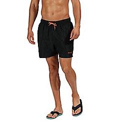 Regatta - Black 'Mawson' swim shorts