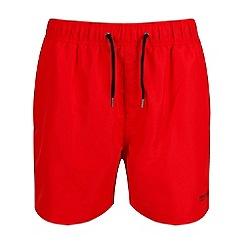 Regatta - Red 'Mawson' swim shorts