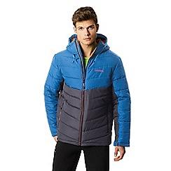 Regatta - Blue 'Nevado' quilted hooded jacket