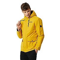 Regatta - Yellow 'Syrus' insulated hooded waterproof jacket