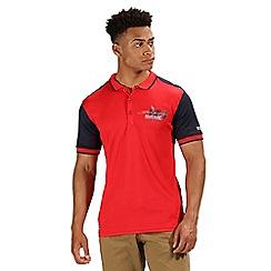 Regatta - Red 'Tremont' polo shirt
