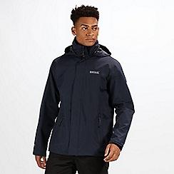 Regatta - Navy matt waterproof jacket