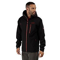 Regatta - Black 'Birch dale' waterproof jacket