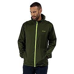 Regatta - Green 'Pack It' waterproof jacket