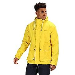 Regatta - Yellow 'Herrick' waterproof jacket