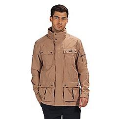 Regatta - Brown 'Eldridge' waterproof jacket