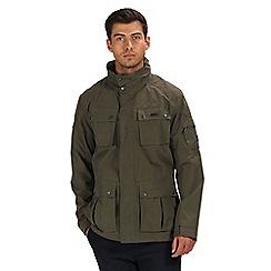 Regatta - Green 'Eldridge' waterproof jacket