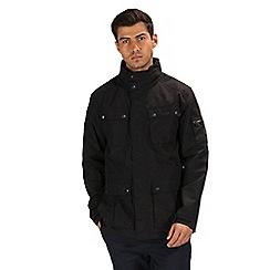 Regatta - Black 'Eldridge' waterproof jacket