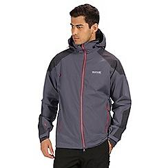 Regatta - Mens Oklahoma IV Reflective Lightweight Hooded Waterproof Jacket