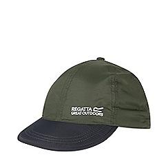 Regatta - Green pack it peak cap