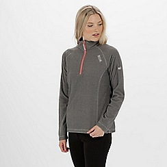Regatta - Women's Montes Half Zip Lightweight Mini Stripe Fleece