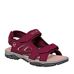 Regatta - Red lady holcombe vent sandals