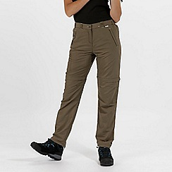 Regatta - Khaki Chaska Zip Off Trousers