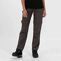 Regatta - Grey Chaska Zip Off Trousers