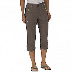 Regatta - Khaki chaska capri trousers