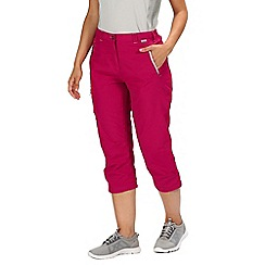 Regatta - Women's Chaska Capri Walking Trousers