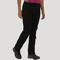 Regatta - Black Dayhike trousers regular length