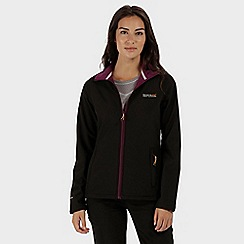 Regatta - Black currant connie softshell jacket