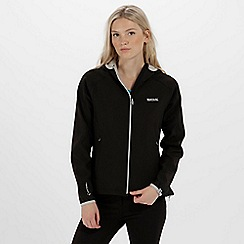 Regatta - Black 'Arec' softshell jacket