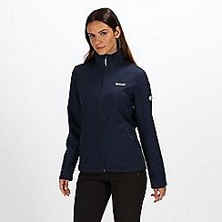 Regatta - Navy womens carby fleece