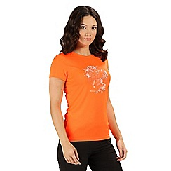 Regatta - Orange womens fingal iv