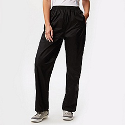 Regatta - Black womens pack it trousers