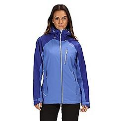 Regatta - Blue 'Birchdale' waterproof jacket