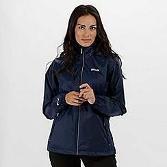 Regatta - Navy 'Corinne' waterproof pack away jacket