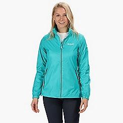Regatta - Blue 'Corinne' waterproof packaway jacket