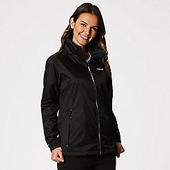 Regatta - Black 'Corinne' waterproof pack away jacket