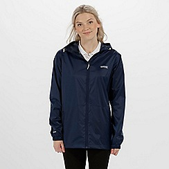 Regatta - Navy 'pack it' waterproof jacket