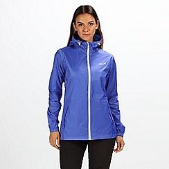 Regatta - Blue 'pack it' waterproof jacket