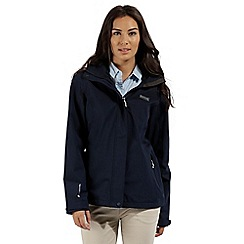Regatta - Navy 'Calyn' stretch waterproof jacket
