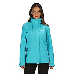 Regatta - Blue 'Calyn' stretch waterproof jacket