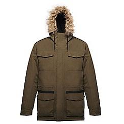 Regatta - Green 'Ardwick' waterproof jacket