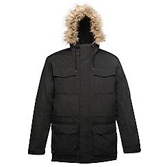 Regatta - Black 'Ardwick' waterproof jacket