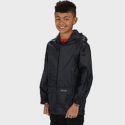 Regatta - Navy kids stormbreak jacket