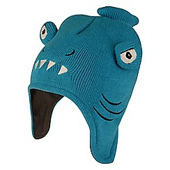Dare 2B - Blue 'Look Out' boys beanie hat