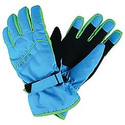 Dare 2B - Blue 'Flag Down' kids ski gloves