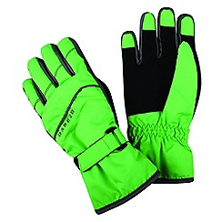 Dare 2B - Green 'Flag Down' kids ski gloves
