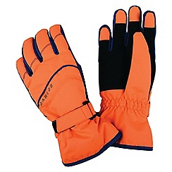 Dare 2B - Orange 'flag down' kids ski gloves