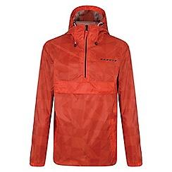 Dare 2B - Boys' orange confusion waterproof jacket